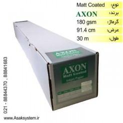 رول کوتد 180 گرم عرض 91.4 - Axon