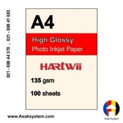 فتوگلاسه 135 گرم A4 - Hartwii