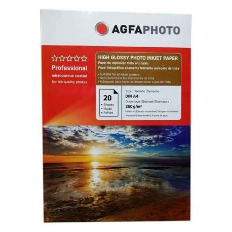 فتوگلاسه 260 گرم A4 - AGFA