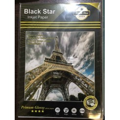 فتوگلاسه 130 گرم A3 - Black Star