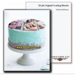 کاغذ خوراکی A4 Inkedibles آمریکایی | کاغذ چاپ کیک A4