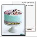 کاغذ خوراکی A5 Inkedibles آمریکایی | کاغذ چاپ کیک A5