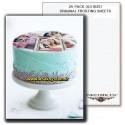 کاغذ خوراکی A3 Inkedibles آمریکایی | کاغذ چاپ کیک A3
