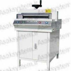 دستگاه برش برقی کاغذ 450DG با گونیای دستی