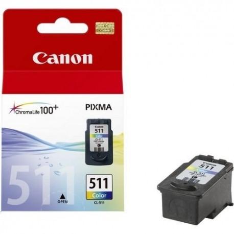 کارتریج جوهر افشان فابریک رنگی Canon 511
