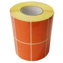 لیبل پی وی سی 51*34 نارنجی - 3000 تایی