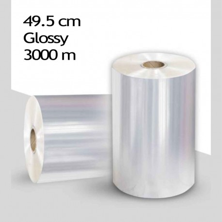 رول سلفون براق 22 میکرون عرض 49.5