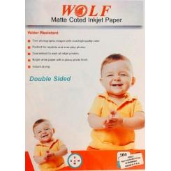 کوتد 140 گرم دورو 100برگی A4 - Wolf