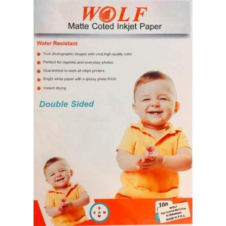 کوتد 140 گرم دورو A4 - Wolf