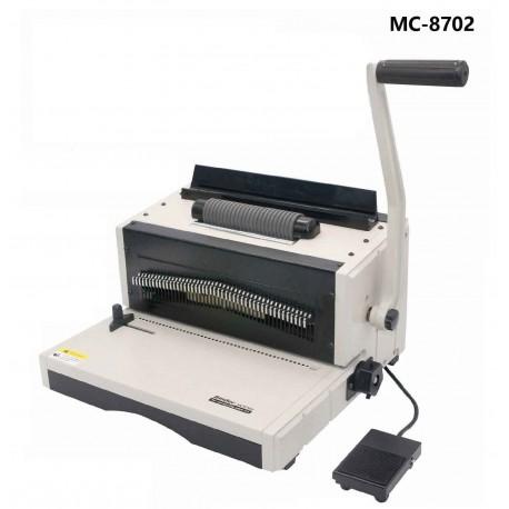 دستگاه صحافی مارپیچ فلزی MC-8702
