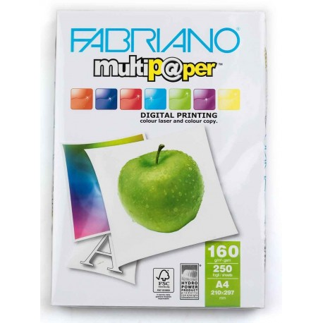 کاغذ عروسکی 160 گرم A4 - Fabriano