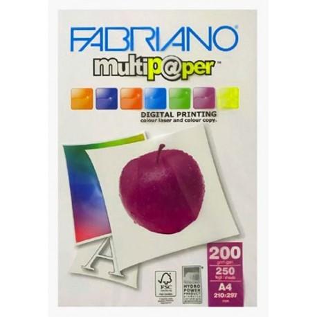 کاغذ عروسکی 200 گرم A4 - Fabriano