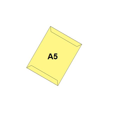پاکت زرد A5