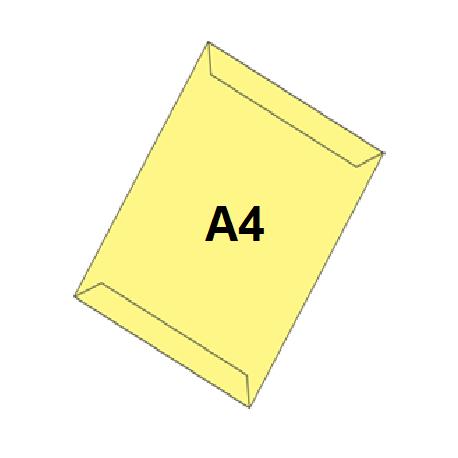 پاکت زرد A4