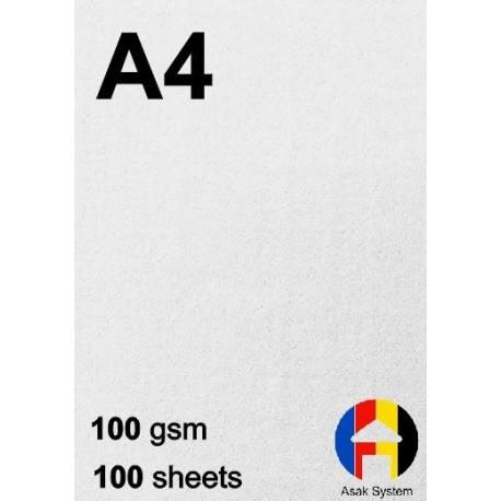 کاغذ کتان 100 گرم A4 - صدبرگی