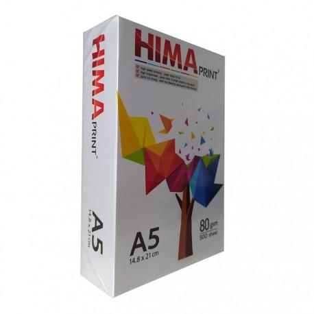 کاغذ تحریر 80 گرم هیما سایز Hima A5