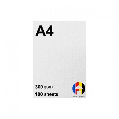 کاغذ کتان 300 گرم A4 - صدبرگی