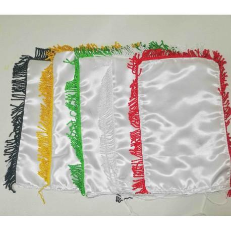 پارچه ساتن پرچم رومیزی