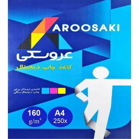 کاغذ عروسکی 160 گرم A4 - بسته بندی ایران