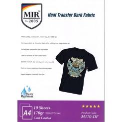 کاغذ ترنسفر تی شرت تیره 170 گرم 10برگی A4 - MIR