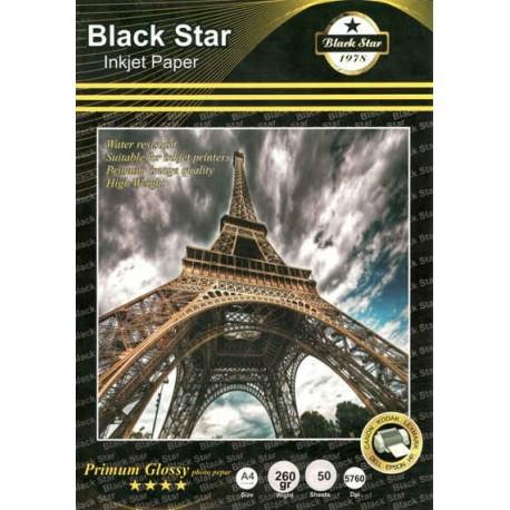 فتوگلاسه 260 گرم A4 - Black Star