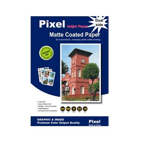 کوتد 190 گرم دورو A4 - Pixel