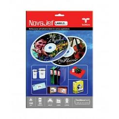 لیبل سی دی A4 - Novajet