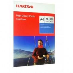 فتوگلاسه 200 گرم 50 برگی A4 - Hartwii