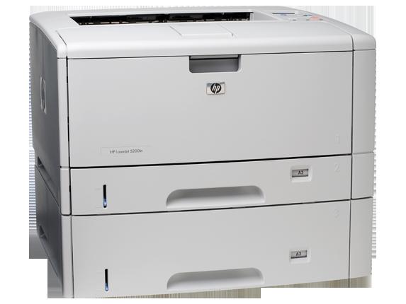 HP LaserJet 5200dtn Printer