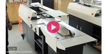 آموزش کار با دستگاه چسب گرم صنعتی مدل S60-A3